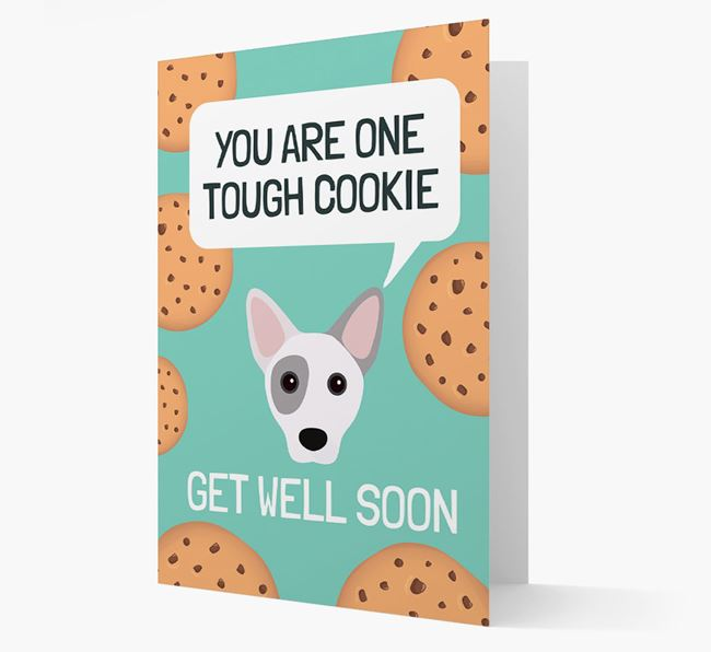 'You are one tough Cookie' Get Well Soon Card with Cojack Icon
