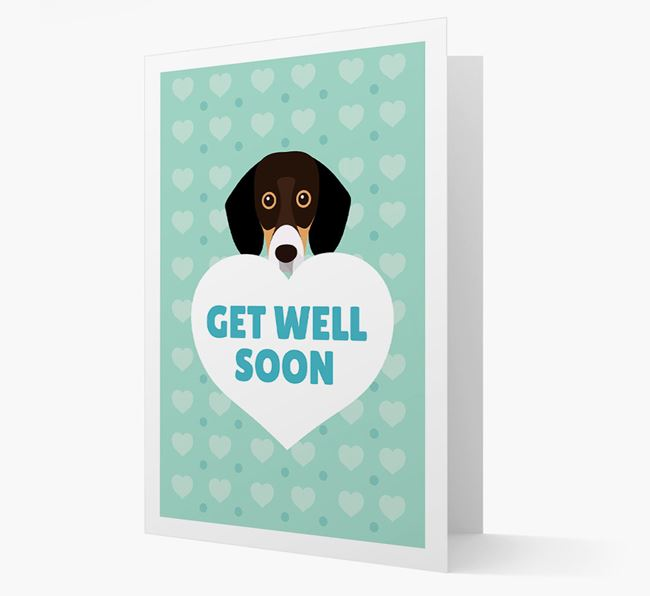 'Get Well Soon' Card with Bassador Icon