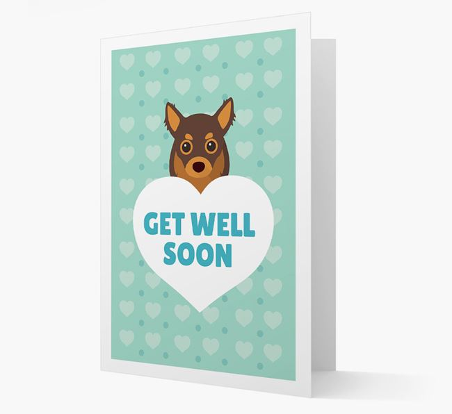'Get Well Soon' Card with Chihuahua Icon
