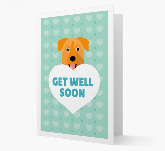 'Get Well Soon' Card with Chinook Icon