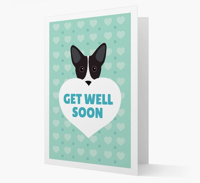 'Get Well Soon' Card with Cojack Icon