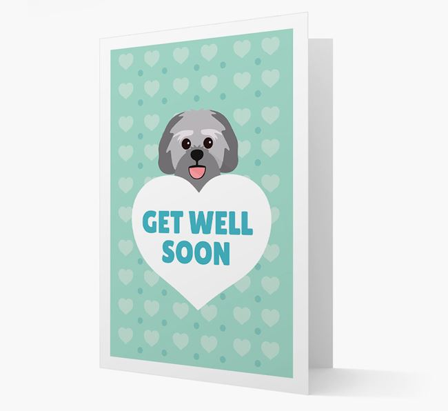 'Get Well Soon' Card with Lachon Icon