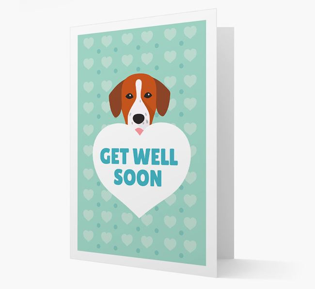 'Get Well Soon' Card with Springador Icon