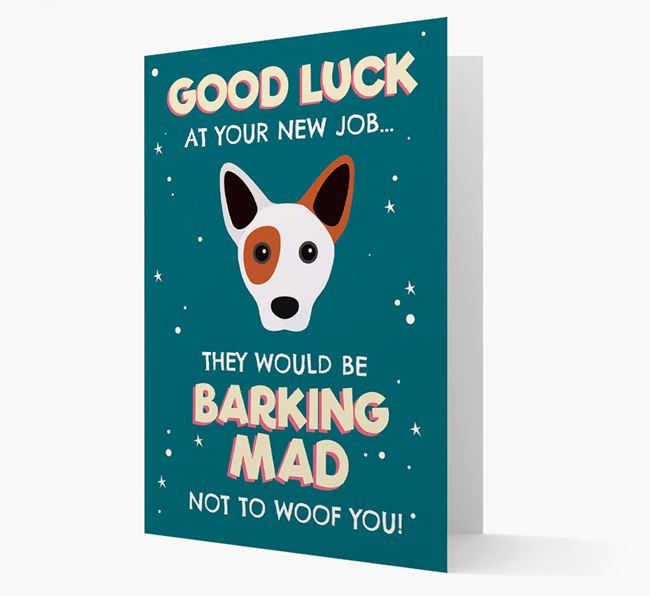 'Good Luck at your New Job!' Card with Cojack Icon