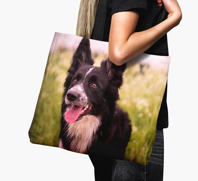 Canvas Bag with photo of your Dog