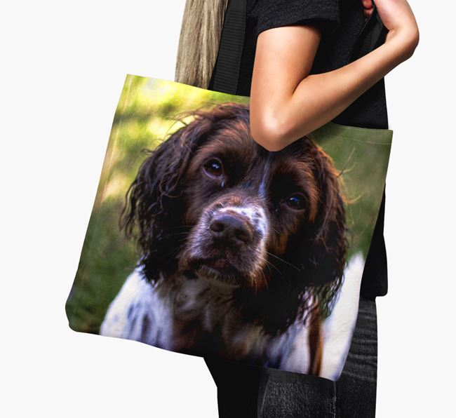 Canvas Bag with photo of your Springer Spaniel