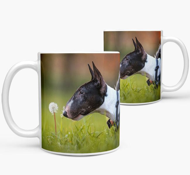Mug with photo of your Bull Terrier