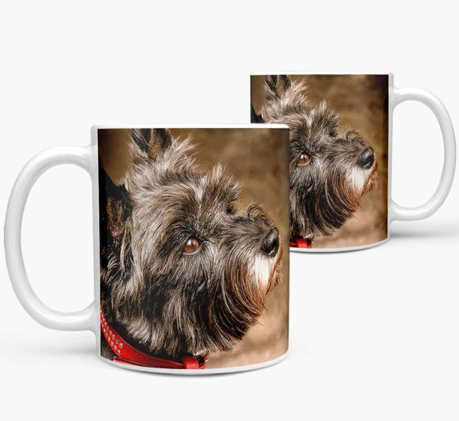 Mug with photo of your Cairn Terrier