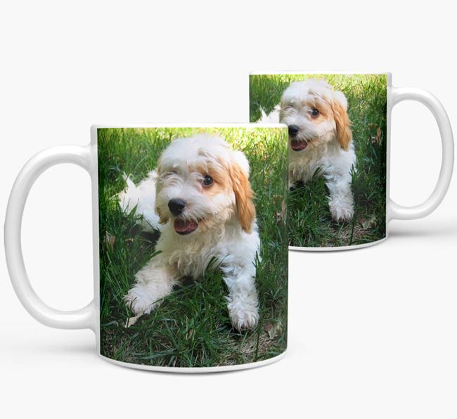 Mug with photo of your Cavachon