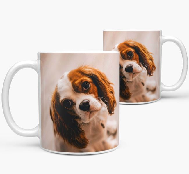 Mug with photo of your Cavalier King Charles Spaniel