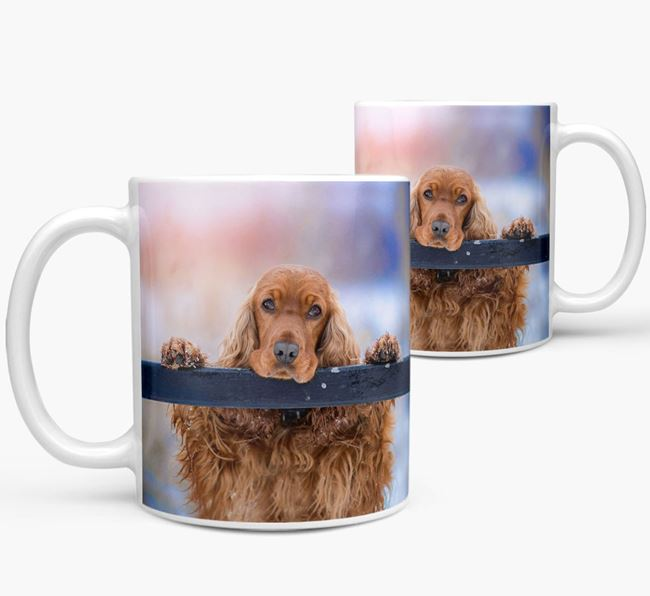 Mug with photo of your Cocker Spaniel