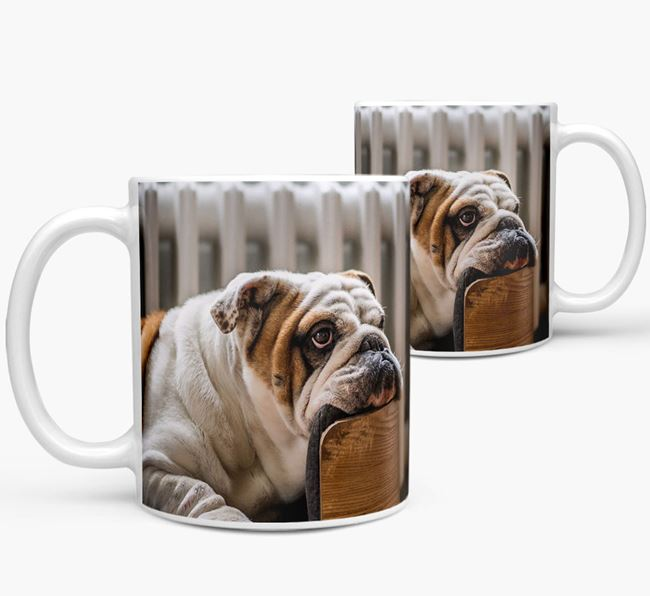 Mug with photo of your English Bulldog