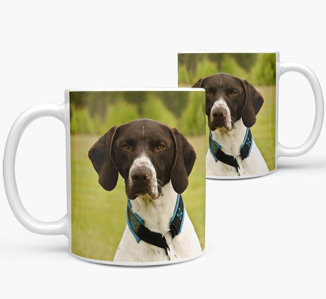 Mug with photo of your German Shorthaired Pointer
