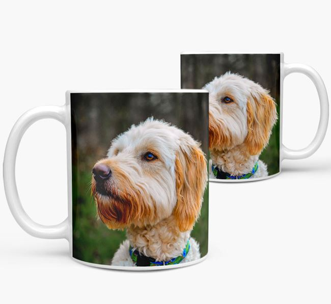 Mug with photo of your Goldendoodle