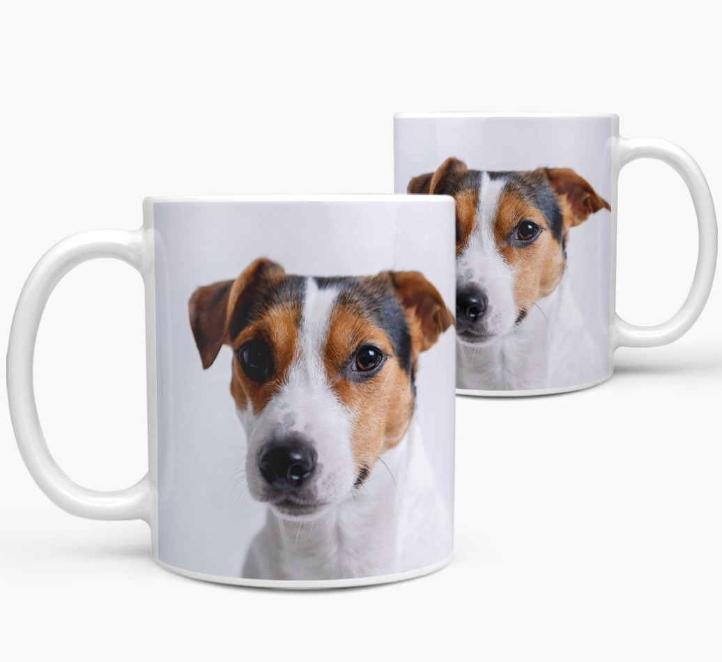 Mug with photo of your Dog Side View