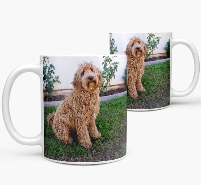 Mug with photo of your Labradoodle