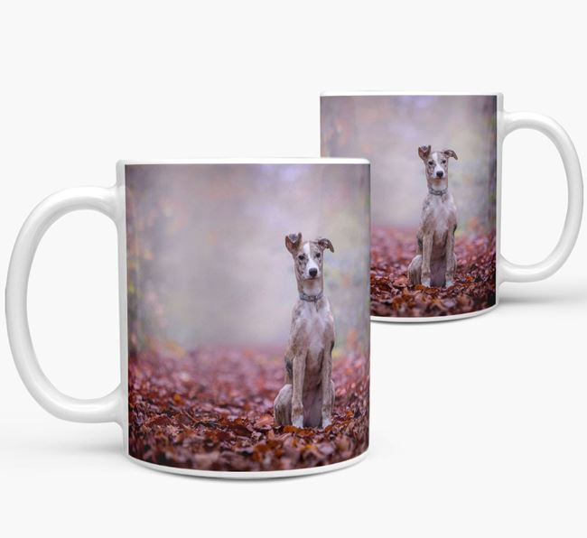 Mug with photo of your Lurcher