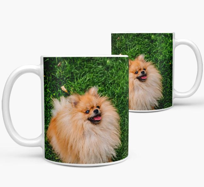Mug with photo of your Pomeranian