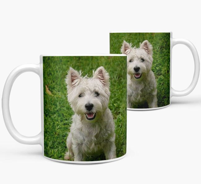 Mug with photo of your West Highland White Terrier
