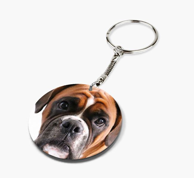 Keyring with photo of your Dog