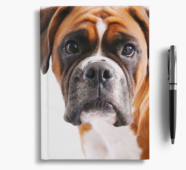 Notebook with photo of your Dog