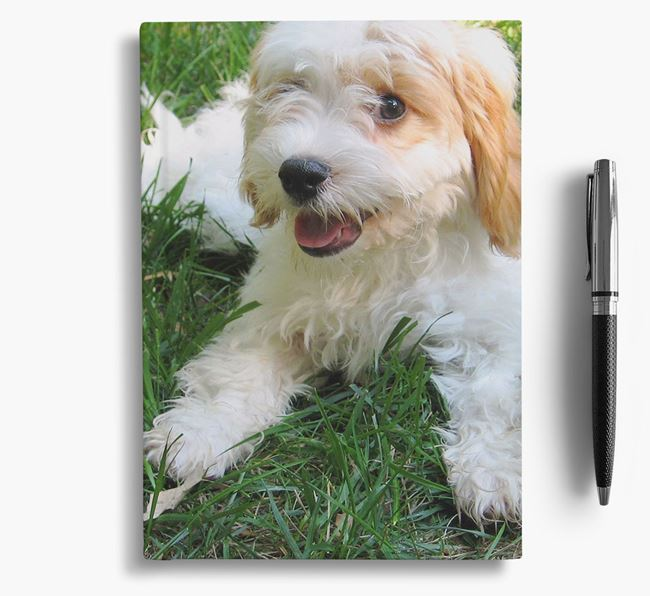 Notebook with photo of your Cavachon