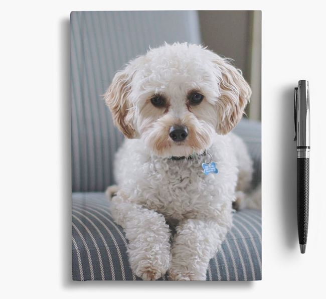 Notebook with photo of your Cavapoo