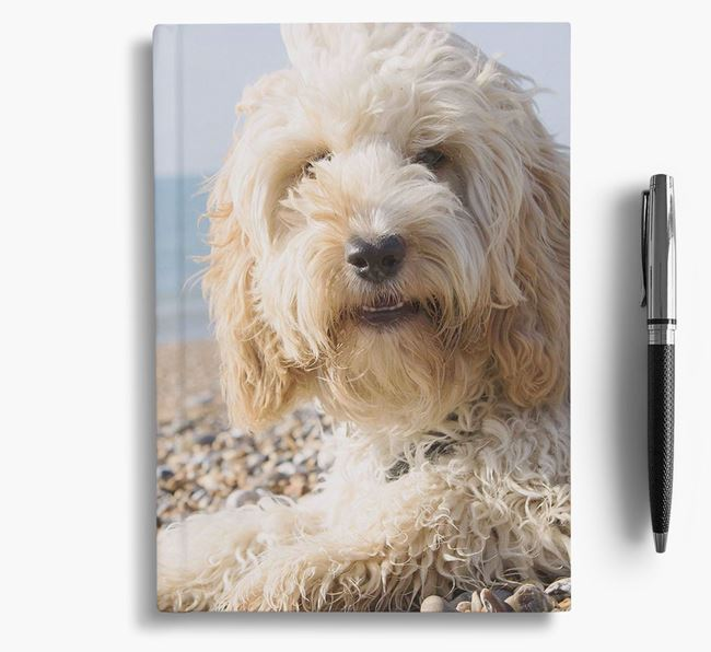 Notebook with photo of your Cockapoo