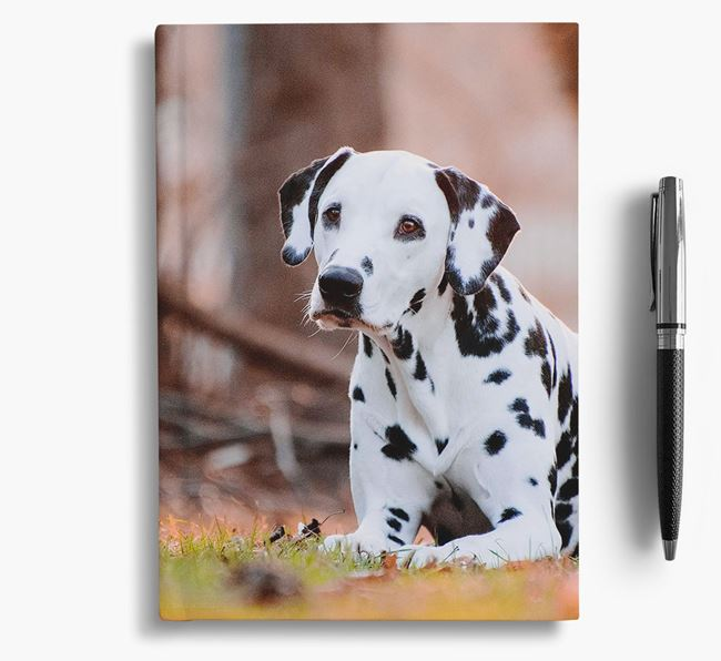 Notebook with photo of your Dalmatian