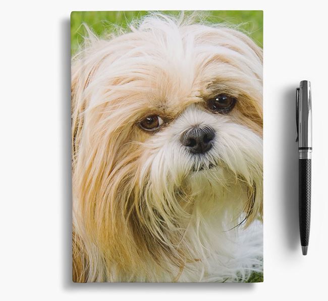 Notebook with photo of your Shih Tzu