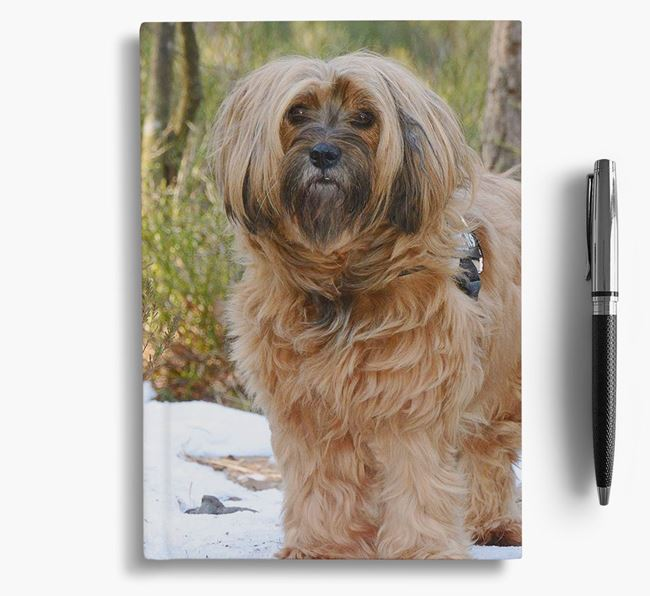 Notebook with photo of your Tibetan Terrier