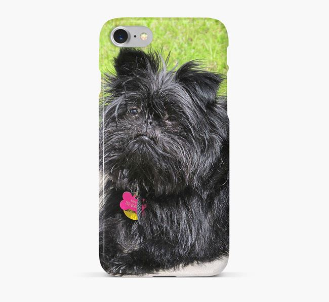 Phone Case with photo of your Affenpinscher