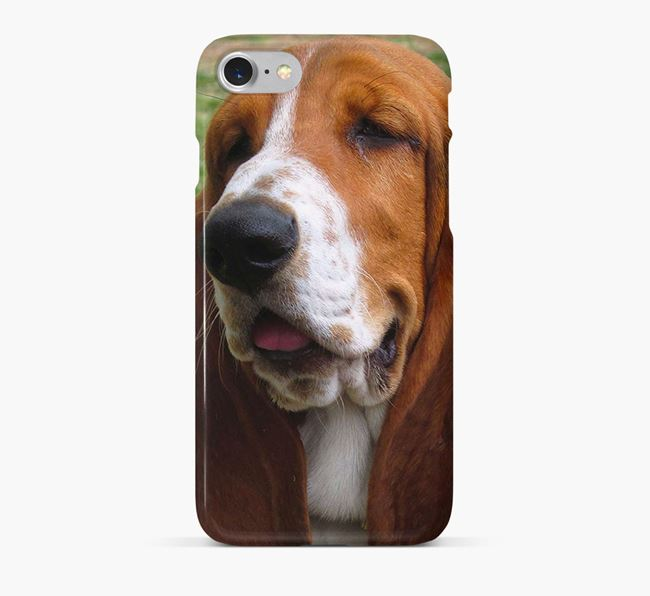 Phone Case with photo of your Basset Hound