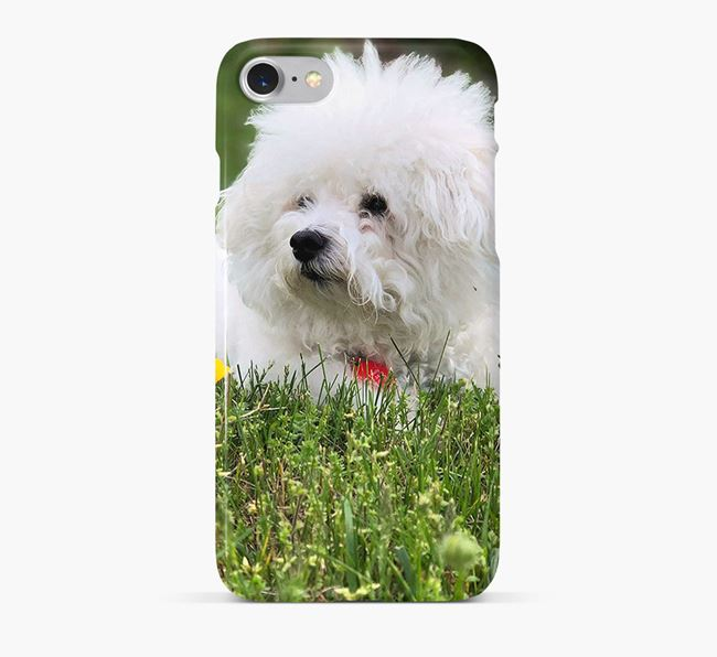Phone Case with photo of your Bichon Frise