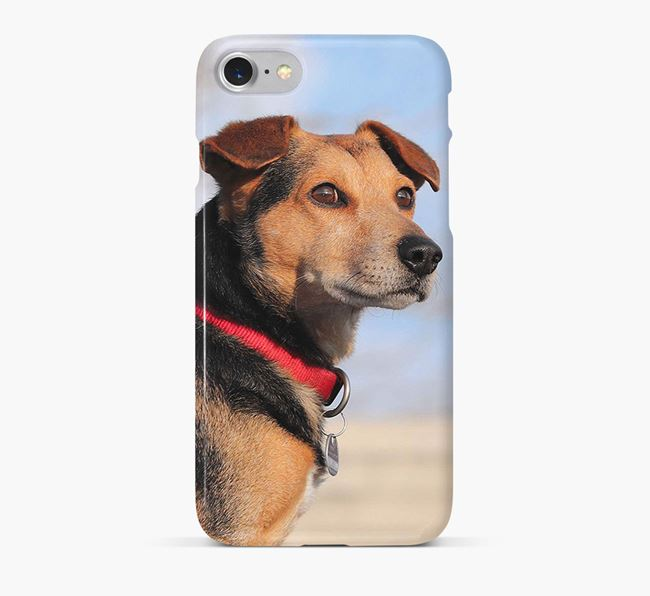 Phone Case with photo of your Black Russian Terrier