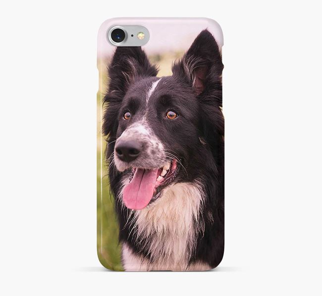 Phone Case with photo of your Border Collie