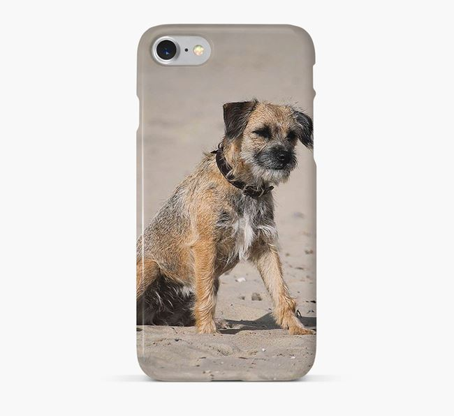 Phone Case with photo of your Border Terrier