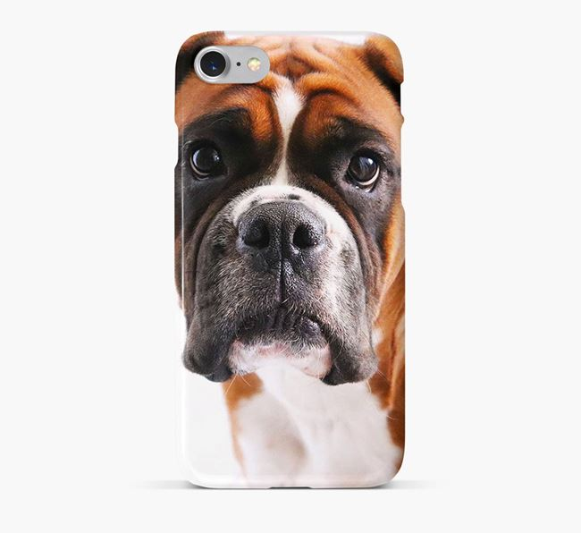 Phone Case with photo of your Boxer