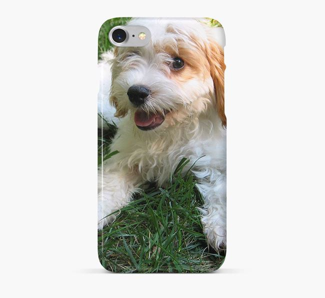 Phone Case with photo of your Cavachon