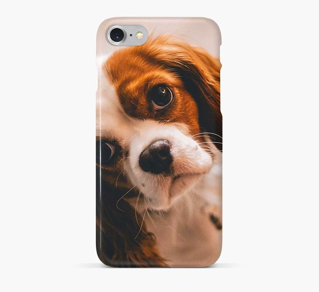 Phone Case with photo of your Cavalier King Charles Spaniel