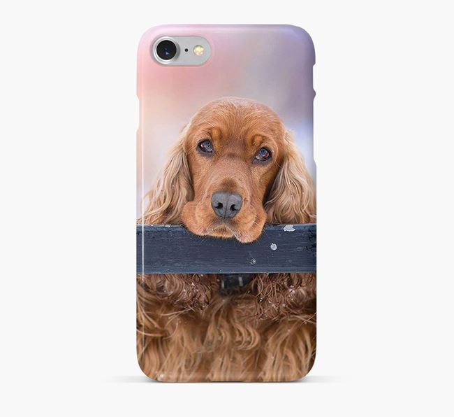 Phone Case with photo of your Cocker Spaniel