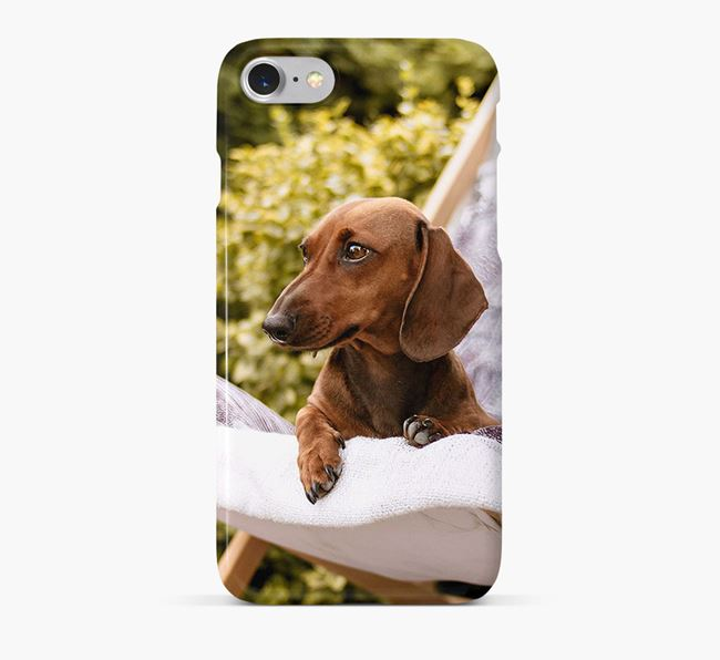 Phone Case with photo of your Dachshund