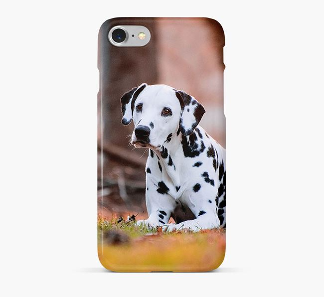 Phone Case with photo of your Dalmatian