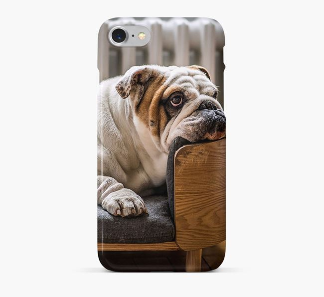 Phone Case with photo of your English Bulldog