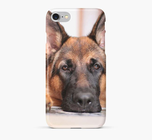 Phone Case with photo of your German Shepherd