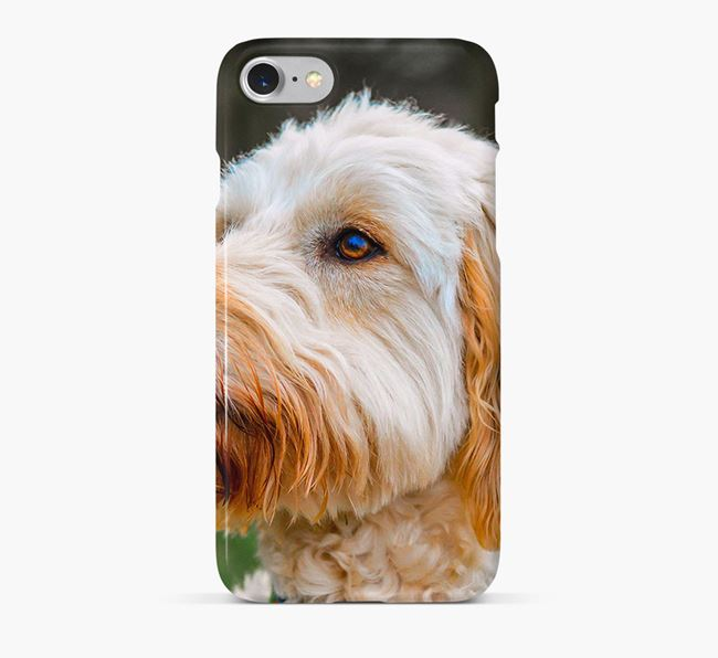 Phone Case with photo of your Goldendoodle