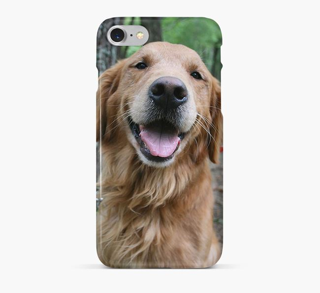 Phone Case with photo of your Golden Retriever