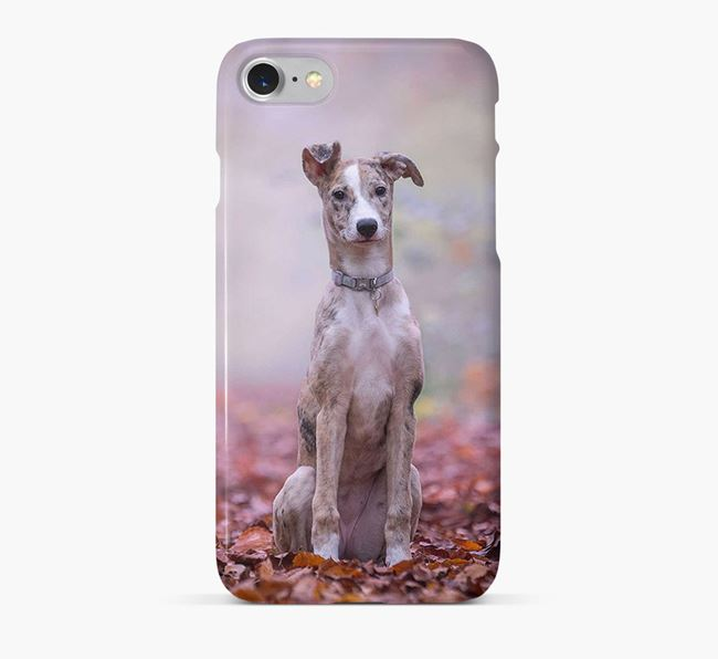 Phone Case with photo of your Lurcher