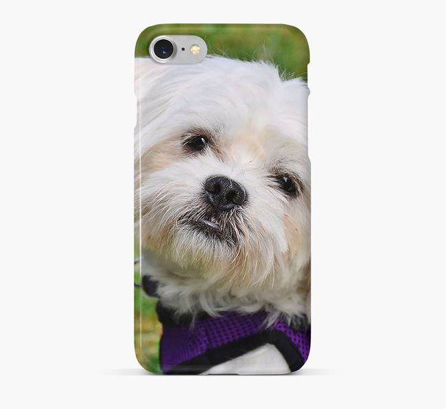 Phone Case with photo of your Maltese