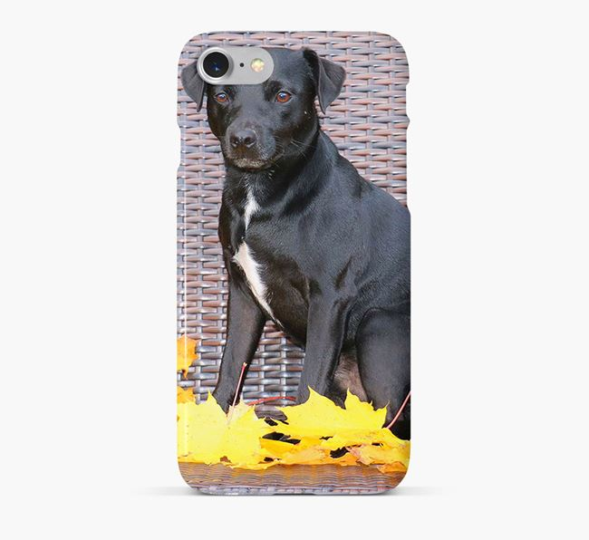 Phone Case with photo of your Patterdale Terrier
